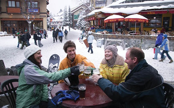 Whistler Pubs for Beer Drinking