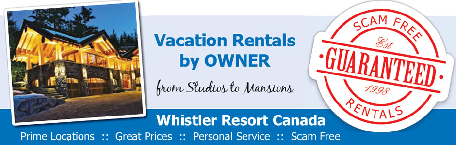 Whistler Accommodation BY Owner
